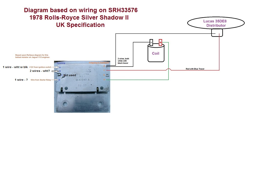 Rolls Royce Ignition Wiring Diagrams