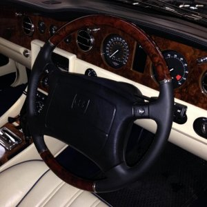 Retro fit purchased direct from Bentley new steering wheel